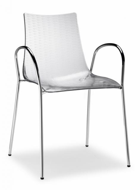 Дизайнерски стол прозрачен