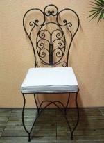 Проектиране на столове от ковано желязо