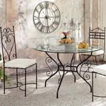 Ковани столове и маси за поставяне в дома и градината