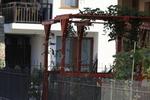 дървени перголи за хотели по поръчка