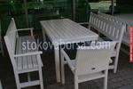 битови маси с 2 пейки и един стол за механи и кръчми по поръчка