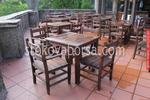 луксозни маси със столове от масив