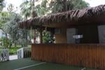 изграждане на летни барове със тръстиков покрив