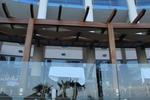 дървена пергола за заведение