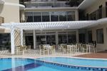 изработка на дървени перголи за хотели