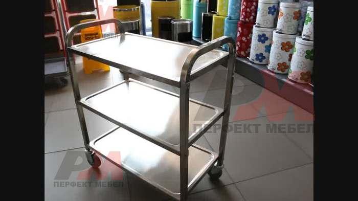 Кетърингови масички и колички за сервиране  за заведения