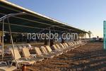 изграждане на метални навесни конструкции за плажове
