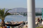 метални сенници с тента или поликарбонат за плажове