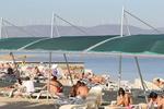 метални сенник конструкции за плажове